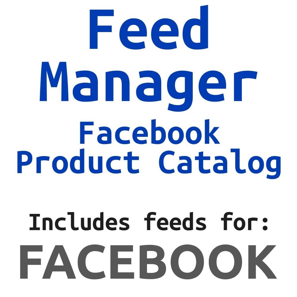 module - Produkte in Facebook & sozialen Netzwerken - Social Network Product Catalog XML Feed (Feed Manager) - 1