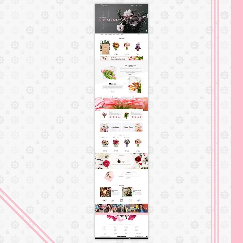 theme - Gifts, Flowers & Celebrations - Flower Gift Store Template - 2