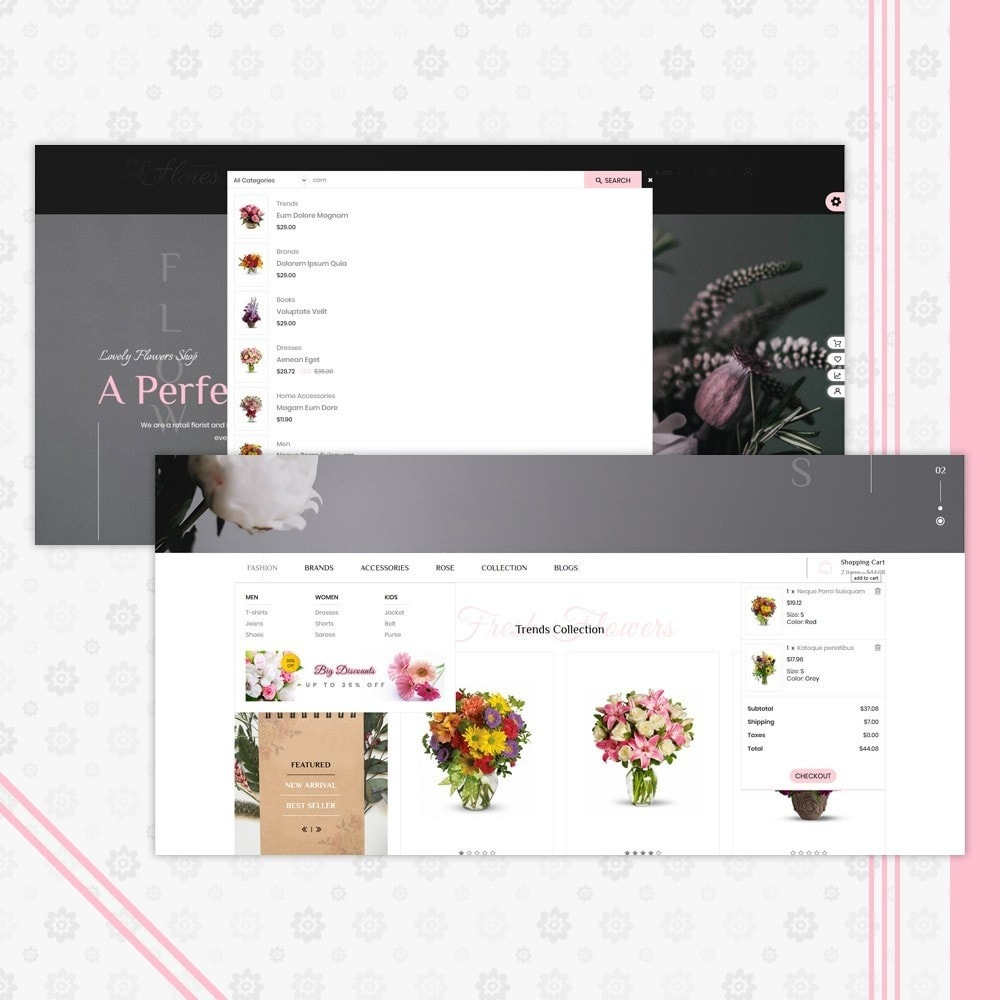 theme - Подарки, Цветы и праздничные товары - Flower Gift Store Template - 6