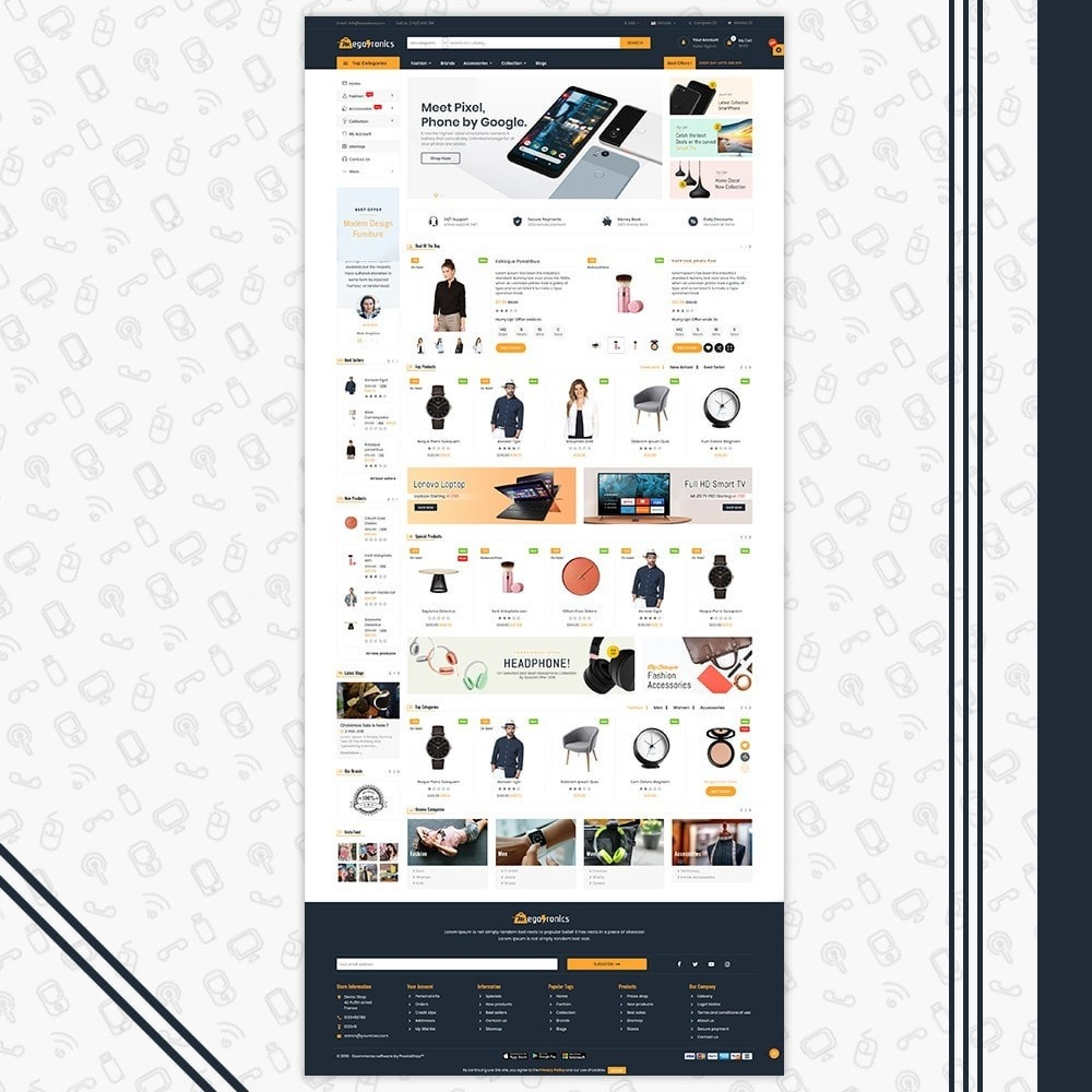 theme - Elettronica & High Tech - Megatronics Store Template - 2