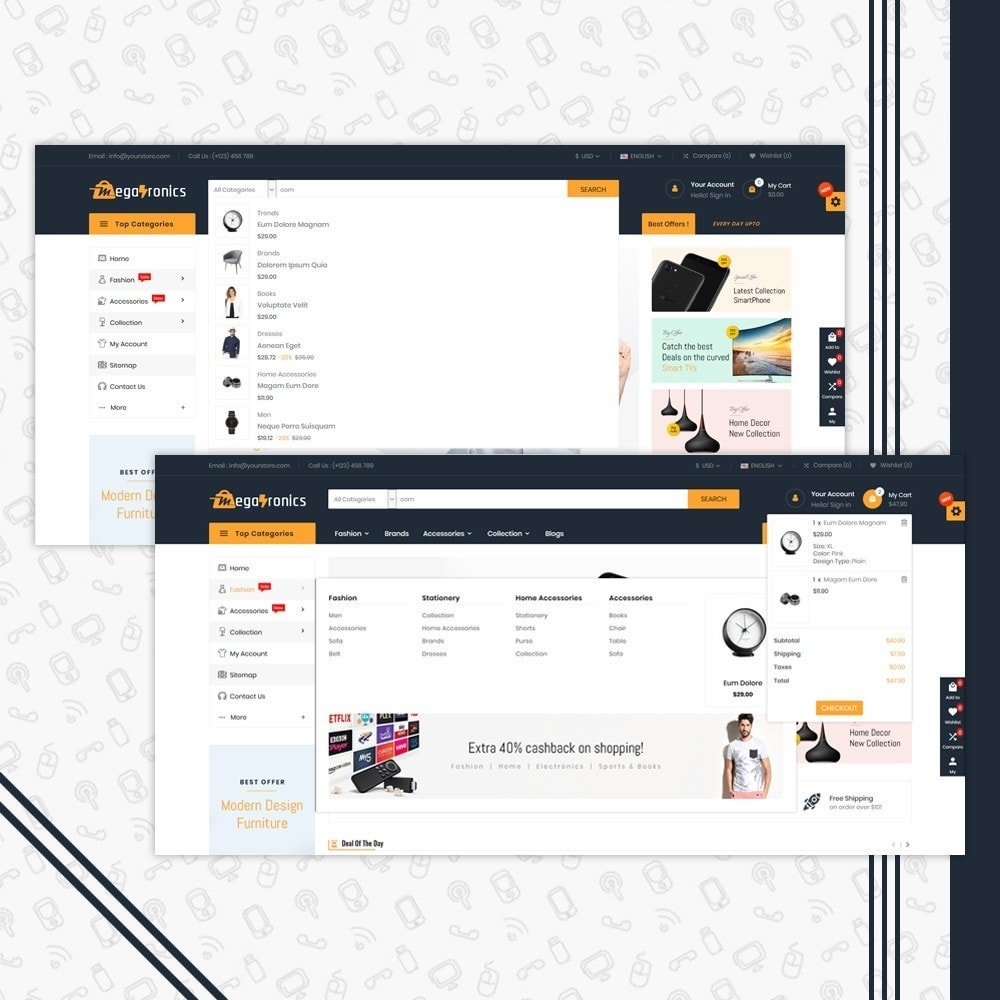 theme - Elettronica & High Tech - Megatronics Store Template - 6