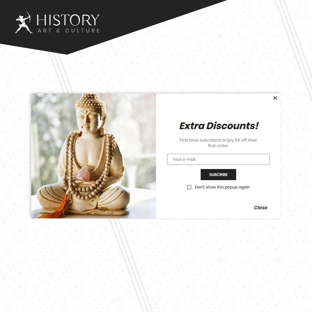 theme - Kultura & Sztuka - Art & Sculpture Store Template - 8