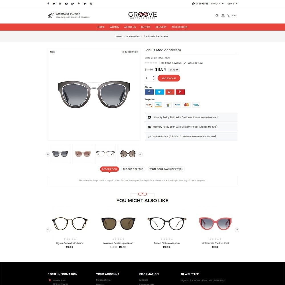 theme - Jewelry & Accessories - Groove Goggles Store - 4