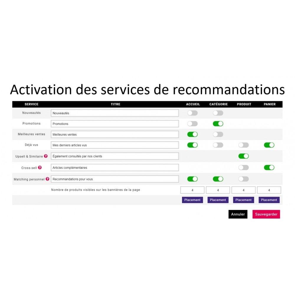 module - Ventes croisées & Packs de produits - MyDreamMatch - Recommandations personnalisées - 2