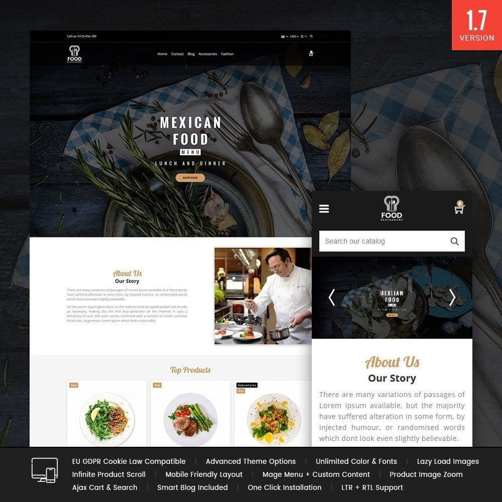 theme - Lebensmittel & Restaurants - Food Store - 1