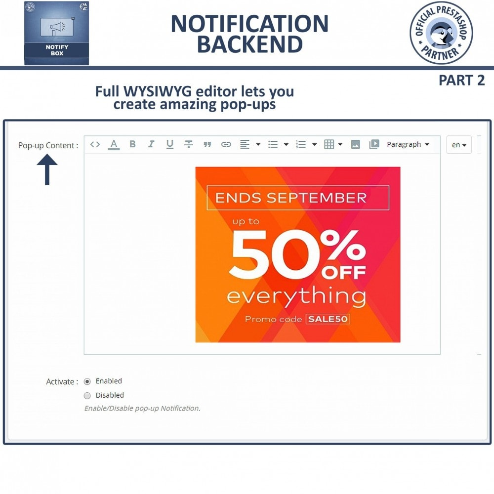 module - Pop-up - Popup Promo and Notification - 5
