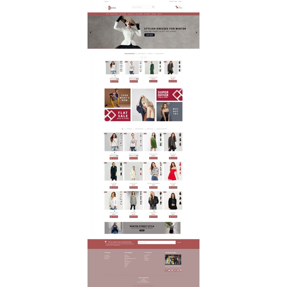 theme - Moda & Calzature - Diana - Fashion premium multipurpose - 3