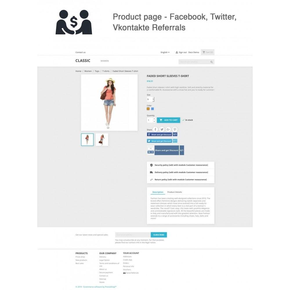 module - Cupons de desconto de redes sociais - Social Referrals (3 in 1) - 1