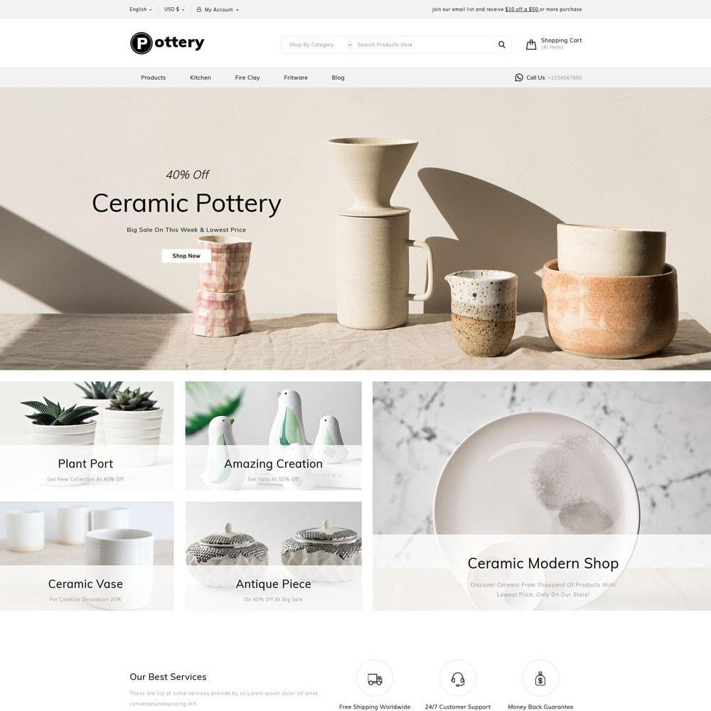 theme - Искусство и Культура - Pottery Store - 2