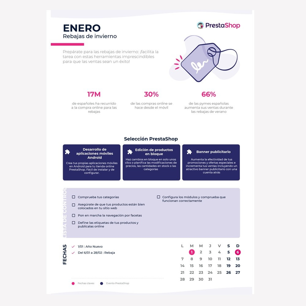 other - Calendario eCommerce - Spanish 2019 eCommerce Calendar - 2