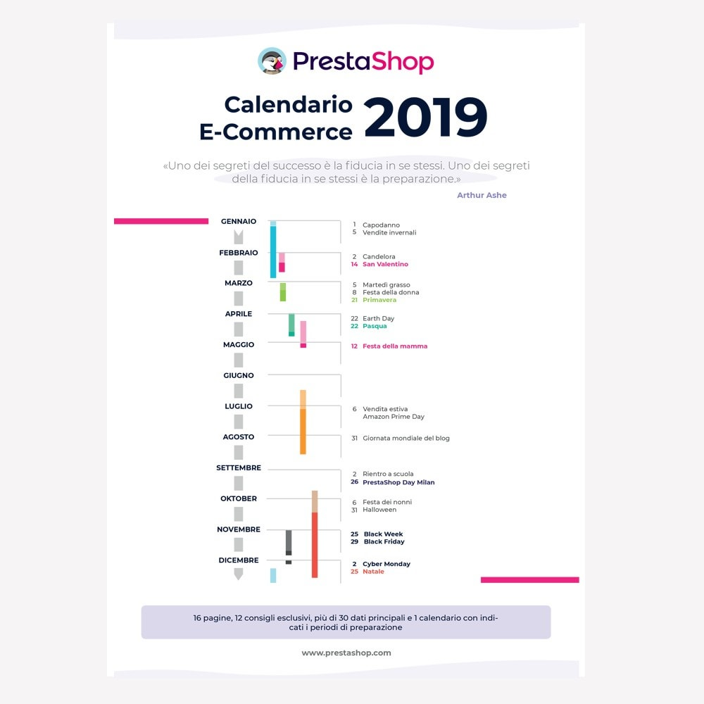other - e-Commerce Calendar - Italian 2019 eCommerce Calendar - 1