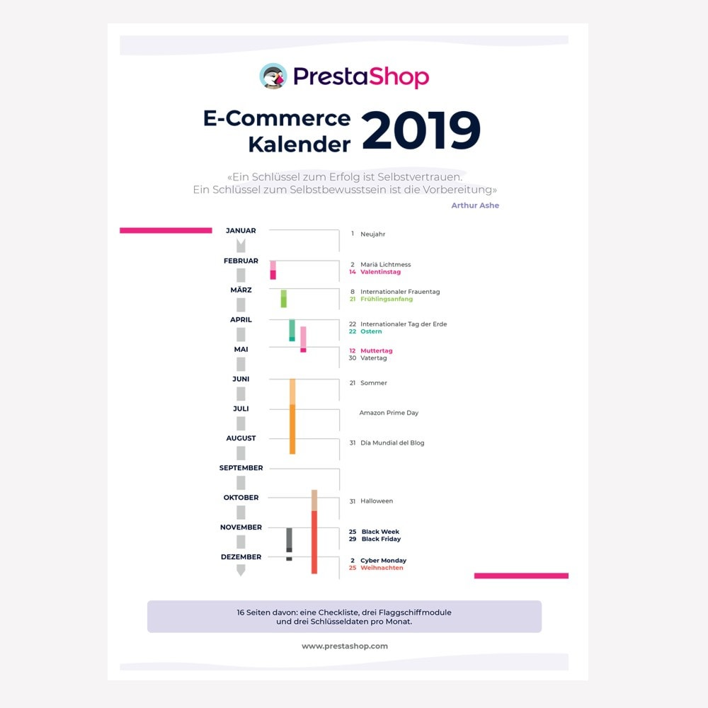 other - Kalendarz e-commerce - Germany 2019 eCommerce Calendar - 1