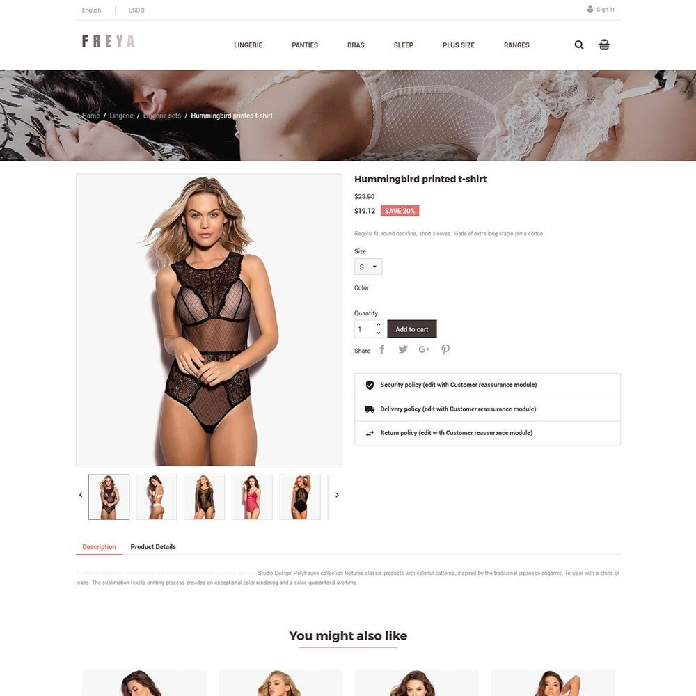 theme - Lingerie & Adulte - Lingerie  - Adult  Fashion Store - 3