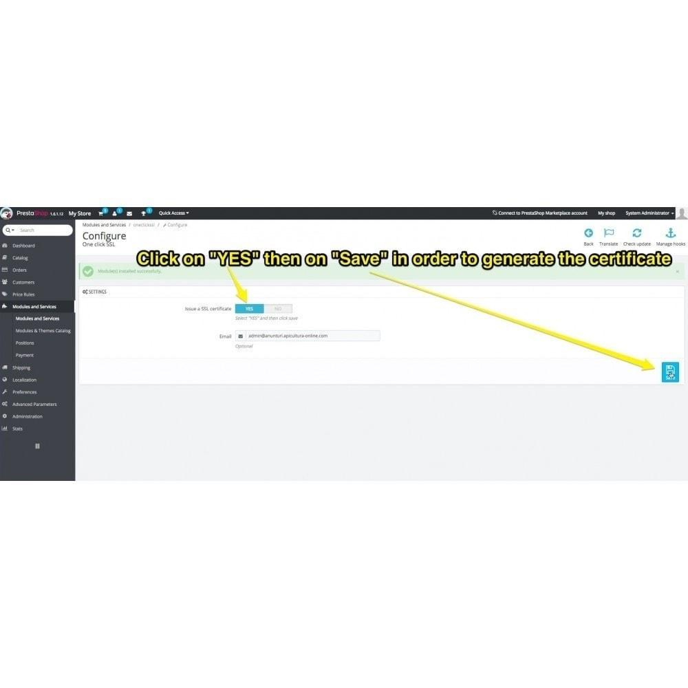 bundle - Marco Legal (Ley Europea) - Starter Kit - GDPR, One Click SSL, One Signal Push - 3