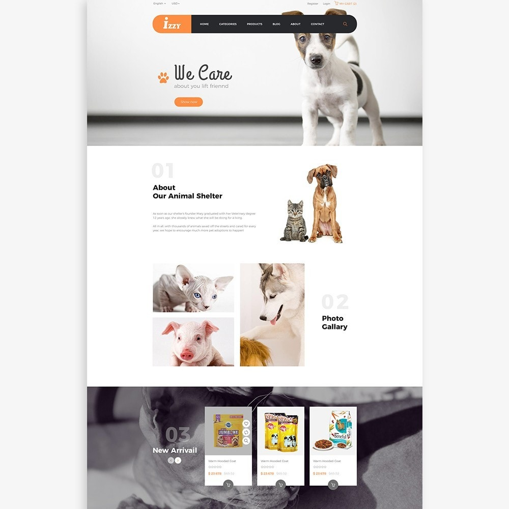 theme - Animali - Bos Izzy Pet Shop & Veterinary Clinic - 2