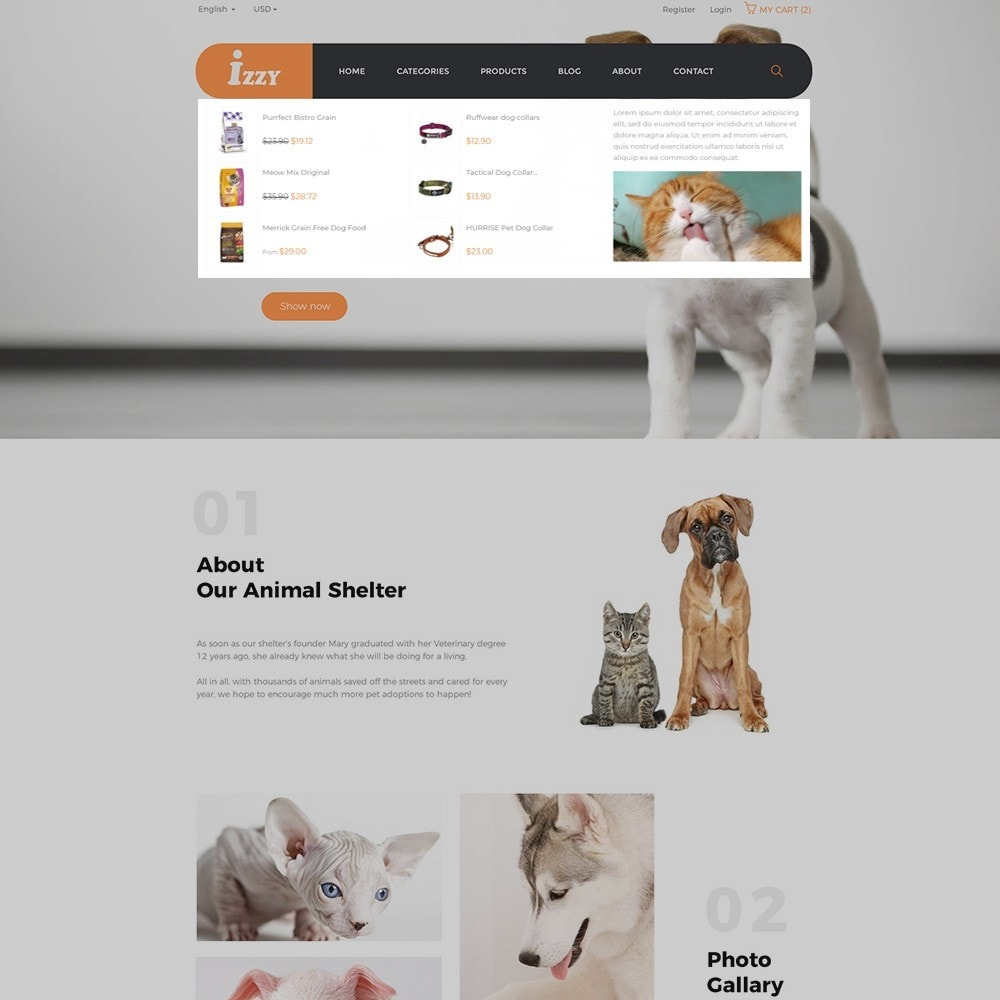 theme - Animali - Bos Izzy Pet Shop & Veterinary Clinic - 4