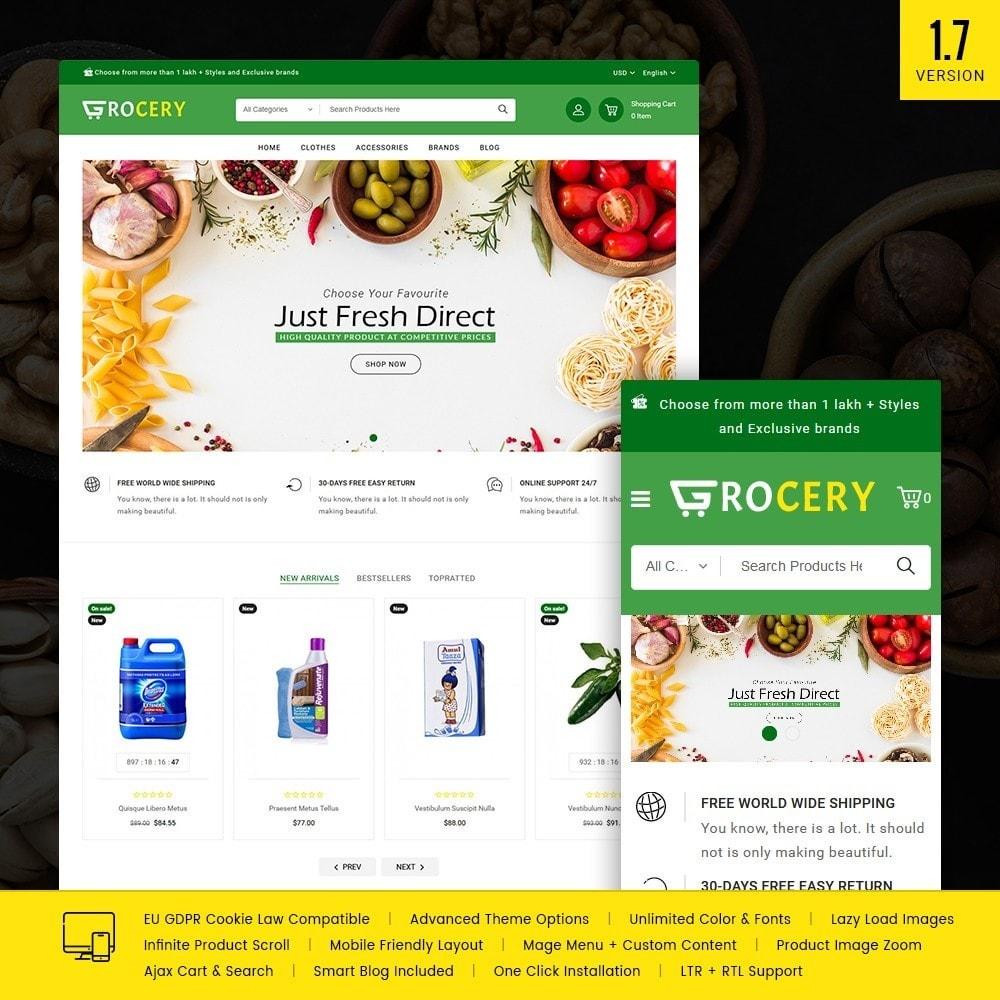 theme - Żywność & Restauracje - Grocery Store - 1