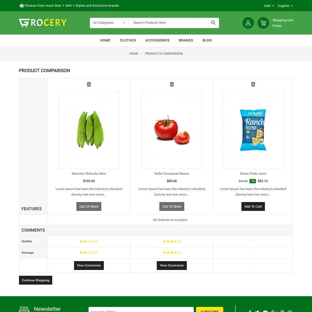 theme - Alimentation & Restauration - Grocery Store - 7