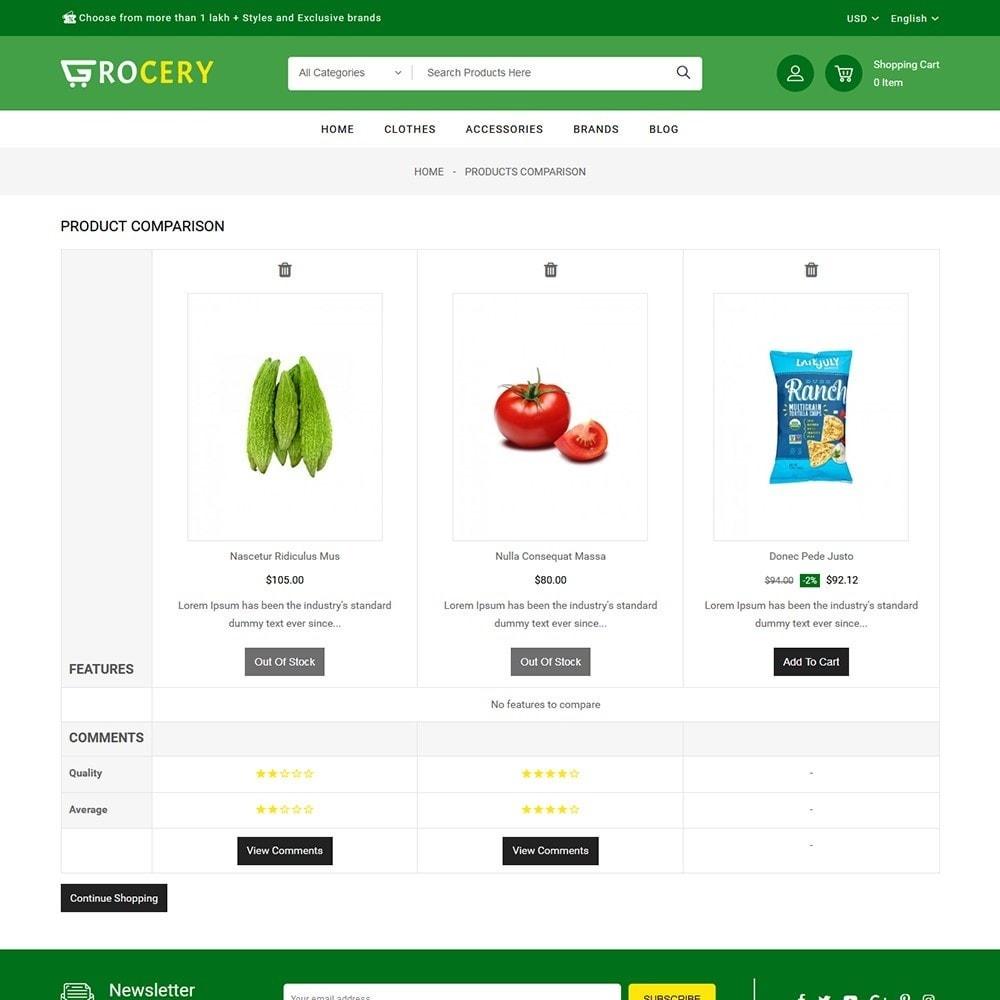 theme - Żywność & Restauracje - Grocery Store - 7