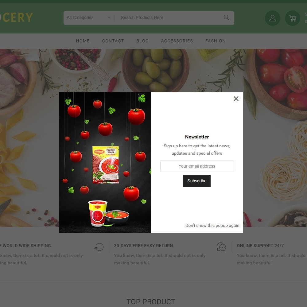 theme - Alimentation & Restauration - Grocery Store - 8