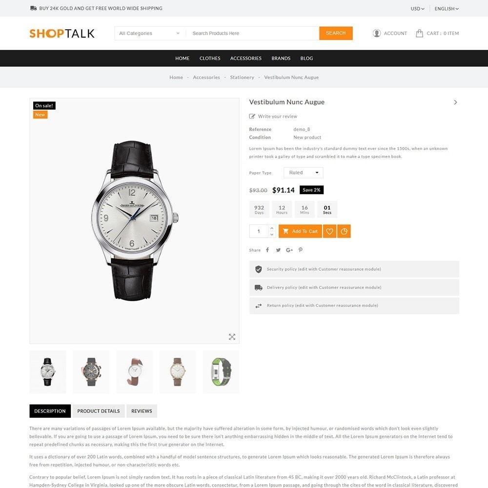 theme - Jewelry & Accessories - ShopTalk Watch Store - 6