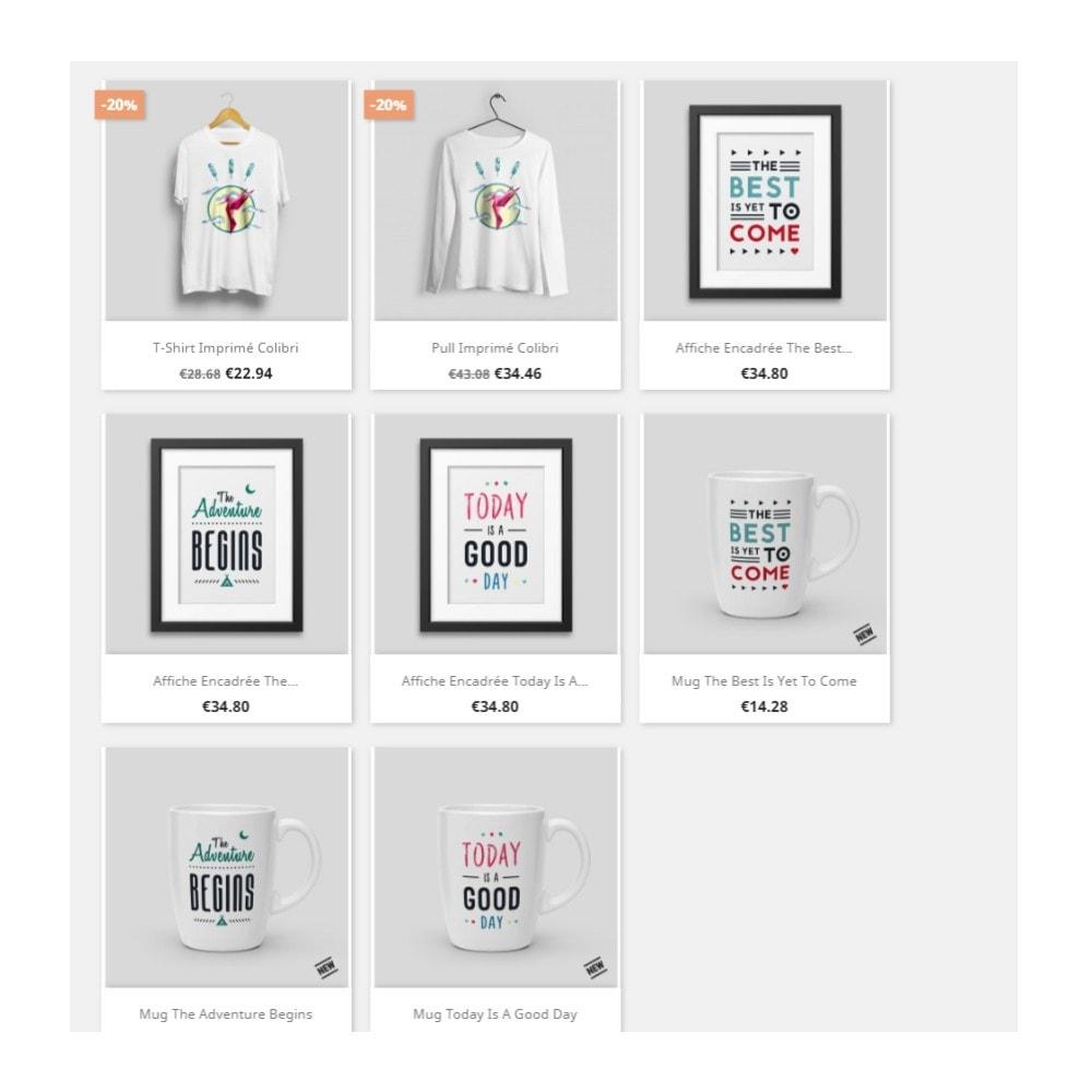 module - Etiquettes & Logos - Labels et Stickers personnalisables - 2