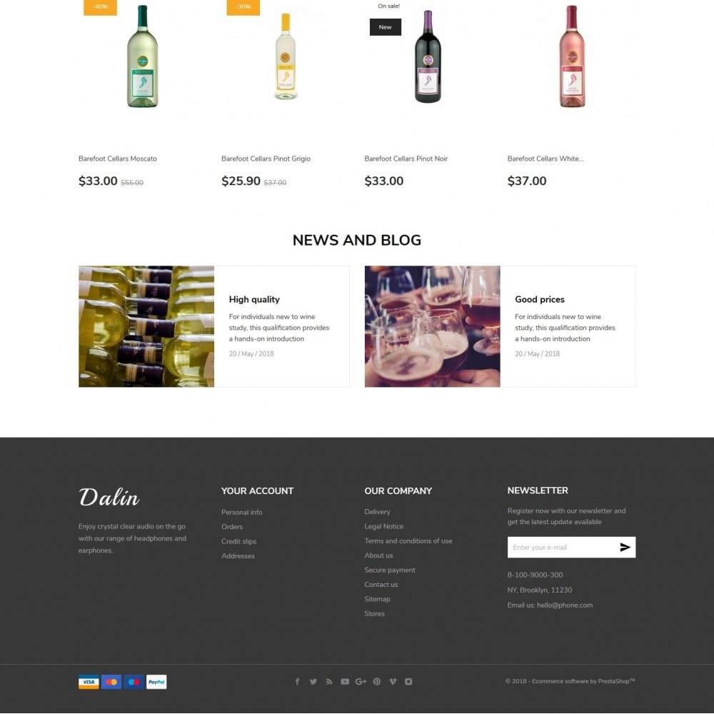 theme - Boissons & Tabac - Dalin Shop - 4