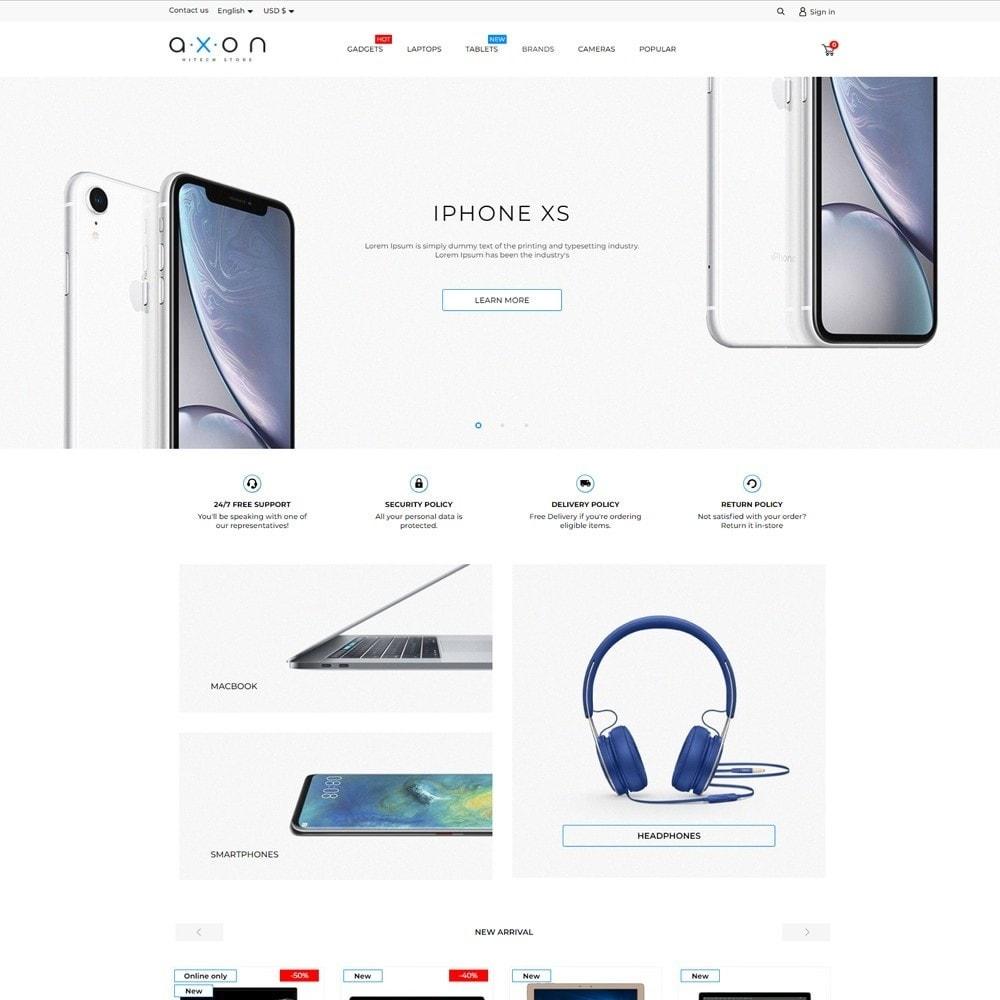 theme - Electronics & Computers - Axon - High-tech Shop - 2