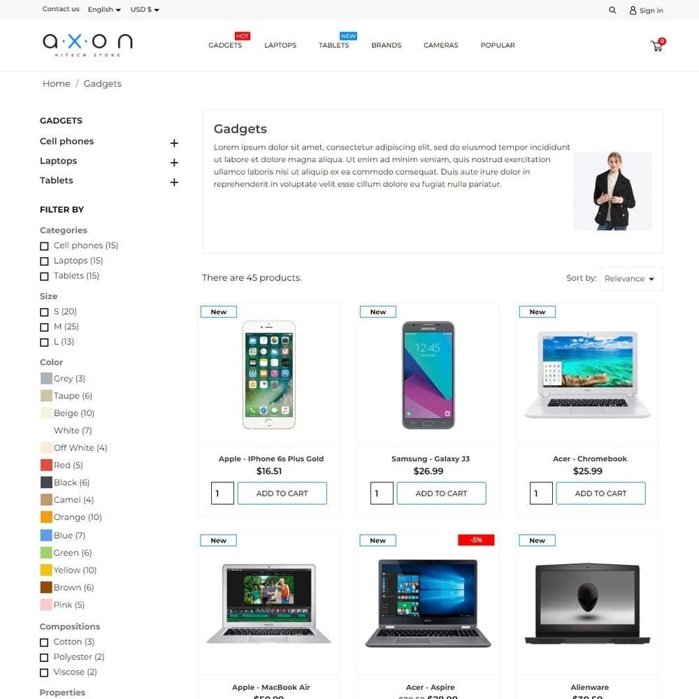 theme - Electronics & Computers - Axon - High-tech Shop - 6