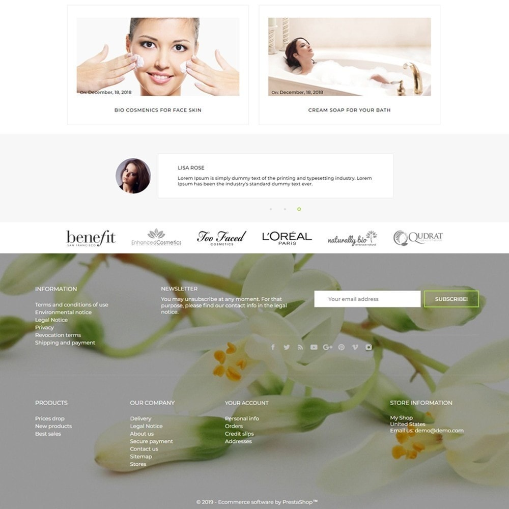 theme - Health & Beauty - Jennifer Cosmetics - 4