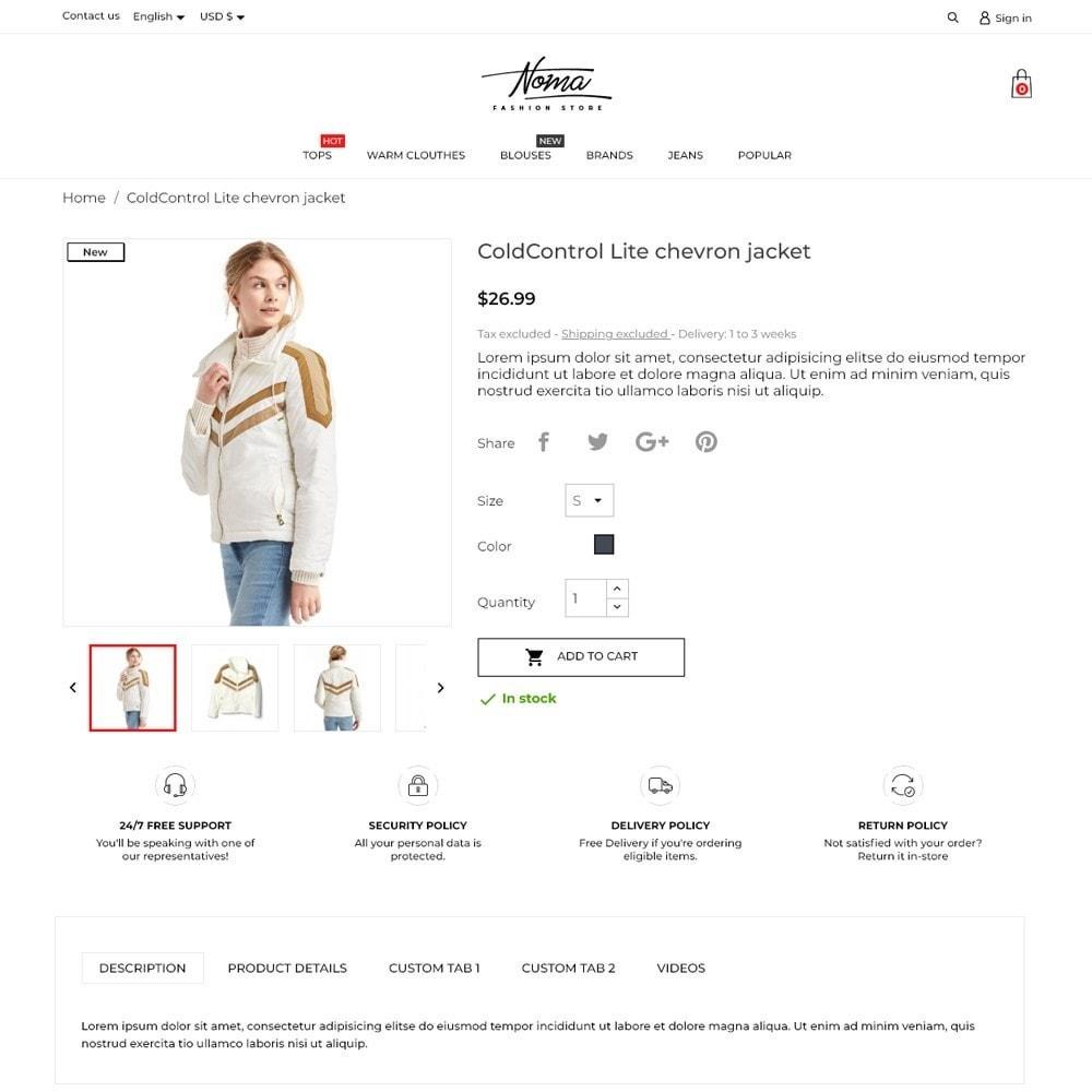 theme - Fashion & Shoes - Noma Fashion Store - 5