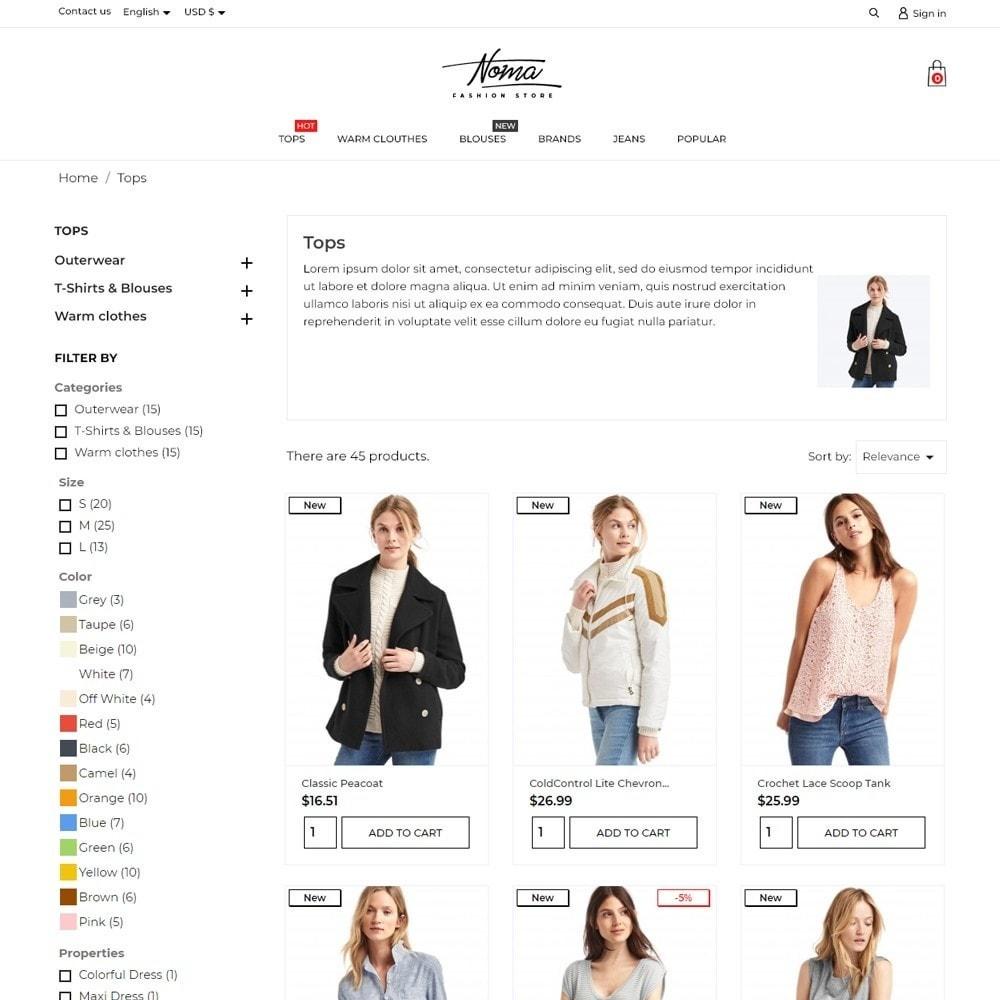 theme - Fashion & Shoes - Noma Fashion Store - 6