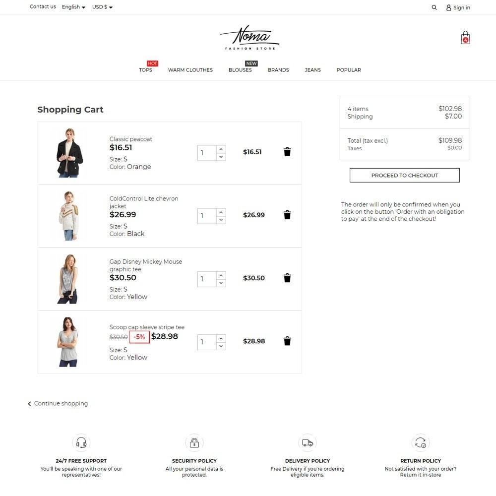 theme - Fashion & Shoes - Noma Fashion Store - 7
