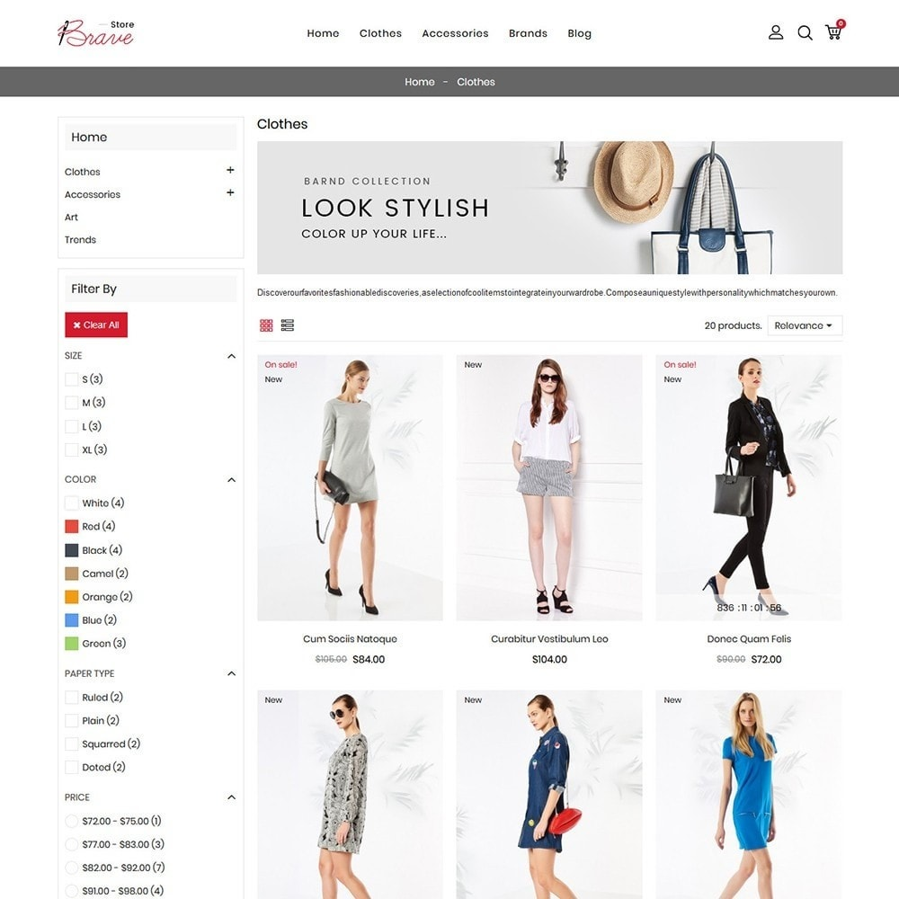 theme - Moda & Calzature - Brave Fashion Store - 4