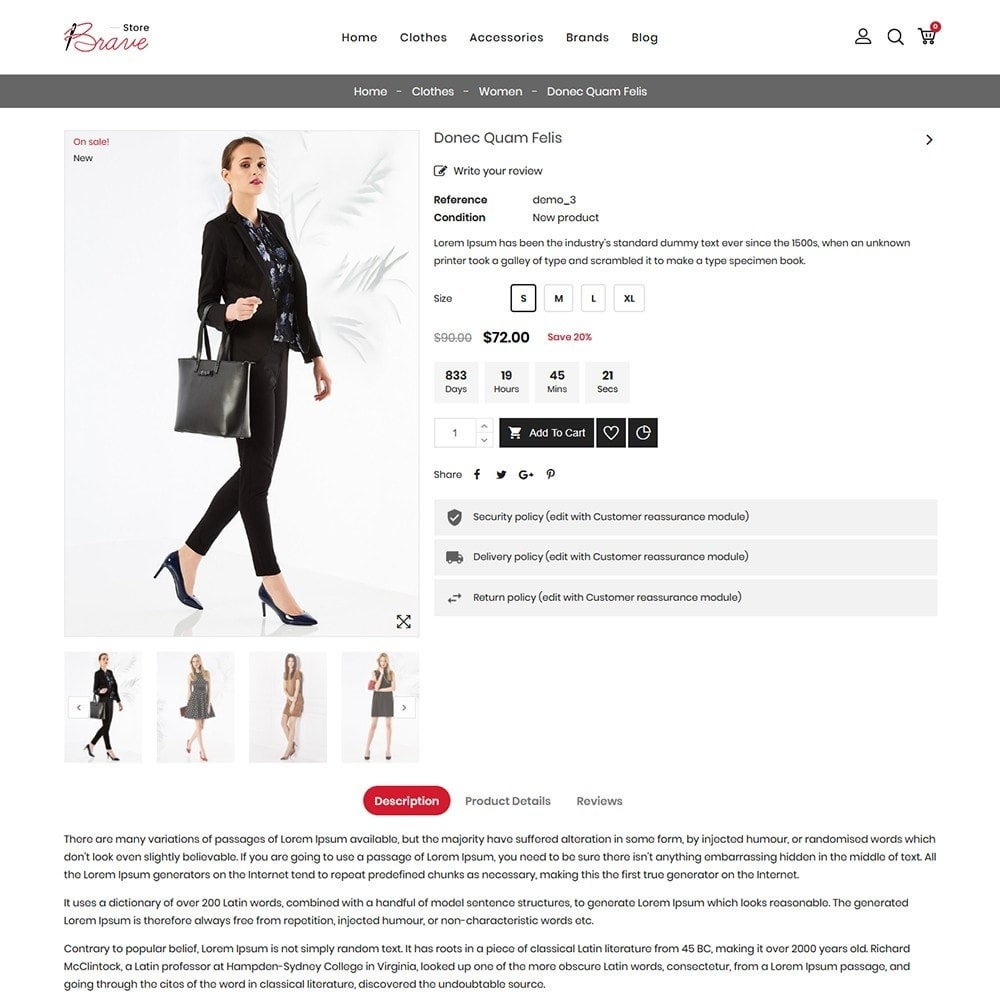 theme - Mode & Chaussures - Brave Fashion Store - 6