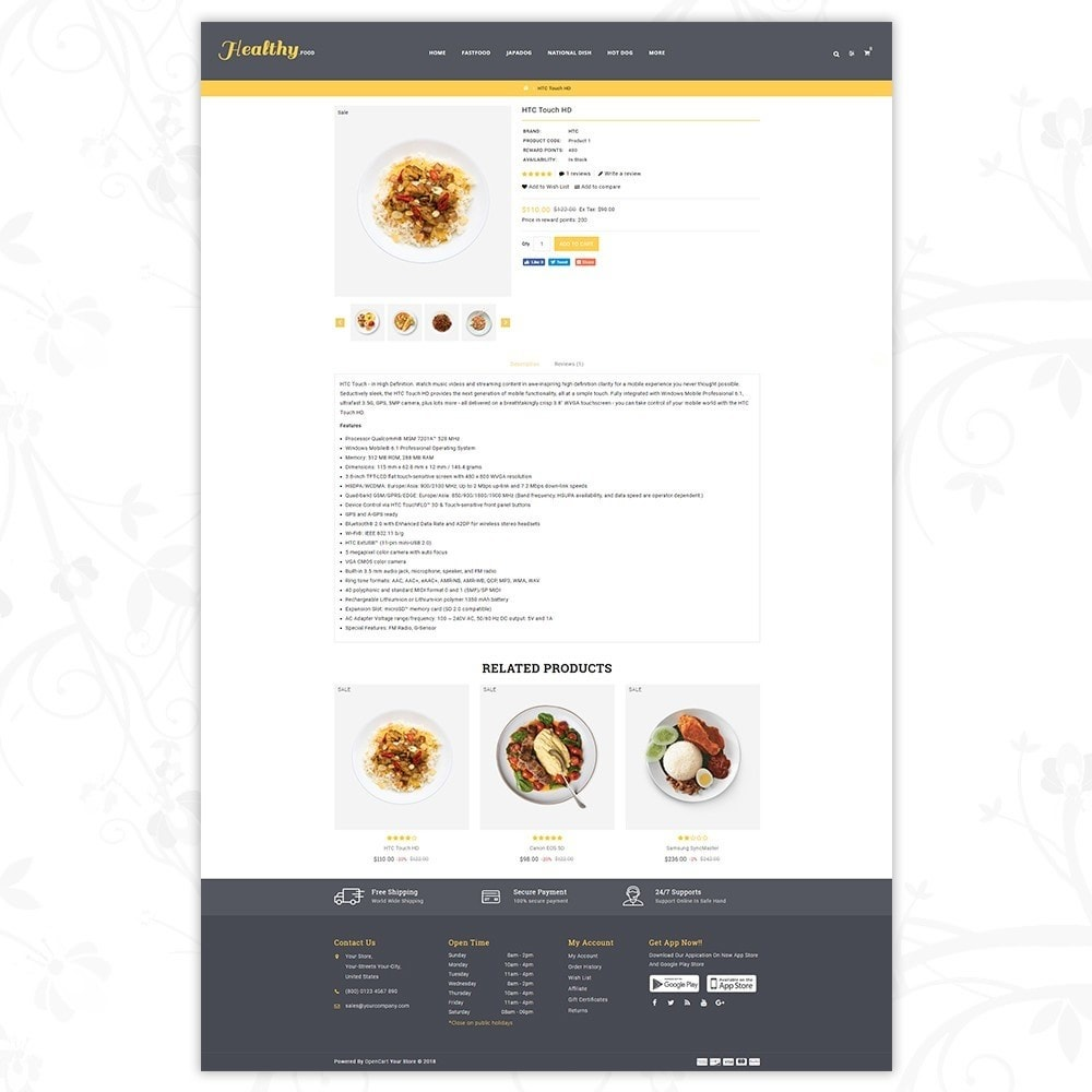 theme - Alimentation & Restauration - Food store - 5