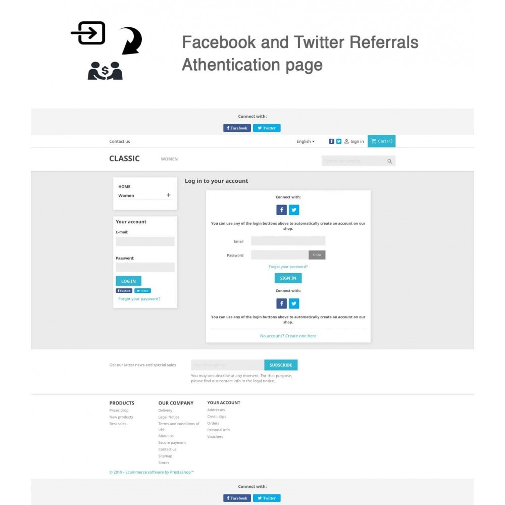 module - Descuentos en redes sociales - Social Referrals + Connects (2 in 1) - 4