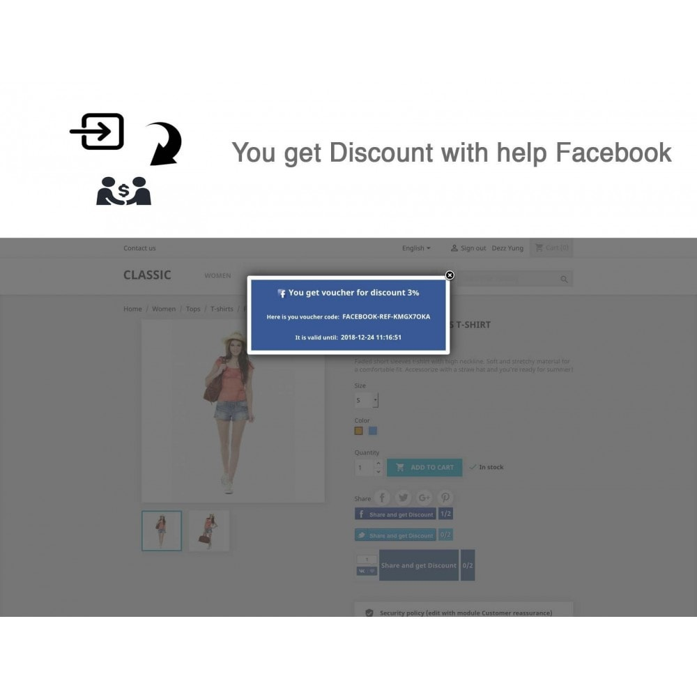 module - Social Rewards & Coupons - Social Referrals + Connects (2 in 1) - 19