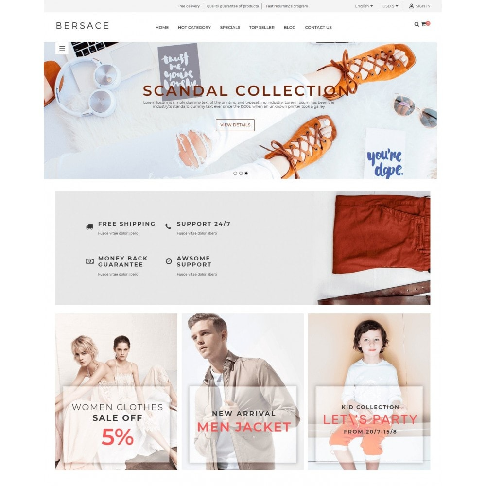 theme - Moda y Calzado - Bersace Fashion Market - 2
