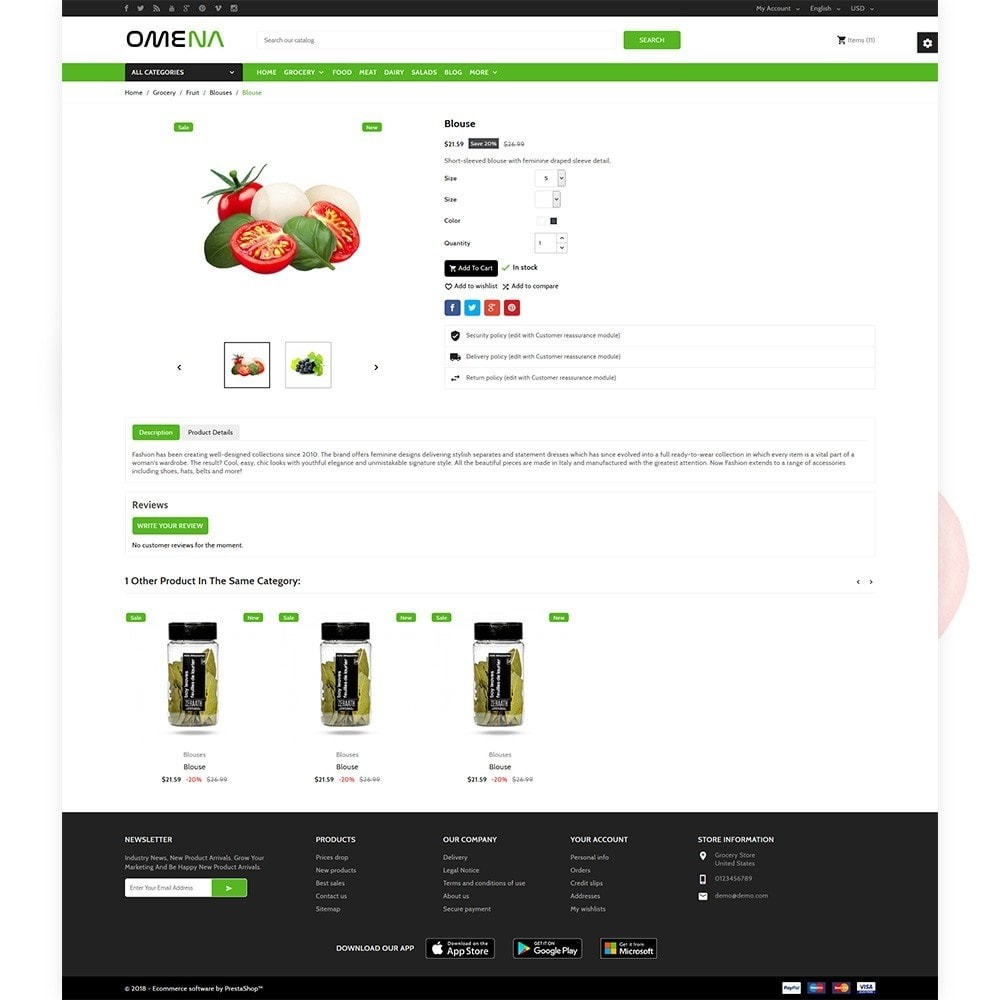 theme - Health & Beauty - Omena - The Grocery Shop - 5