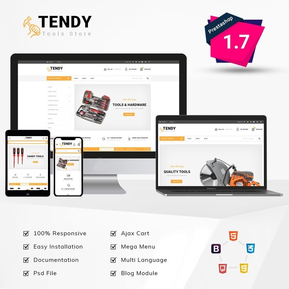 theme - Auto & Moto - Tendy Tools Store - 1