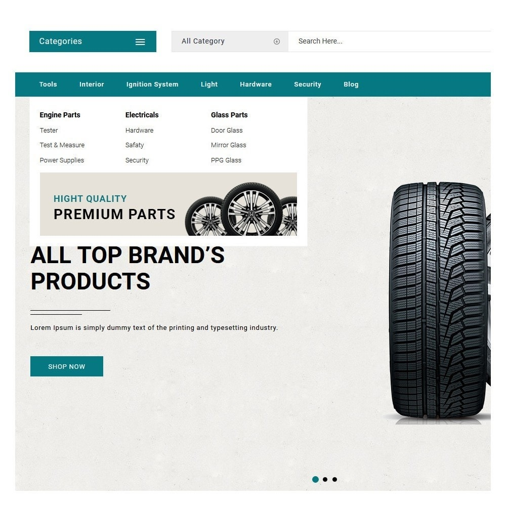 theme - Automotive & Cars - Straight Auto parts shop - 7