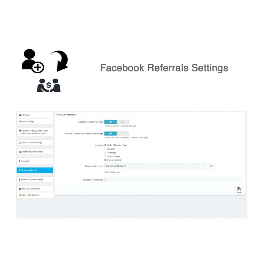 module - Social Network Coupon - Social Referrals + Social Connect - 32