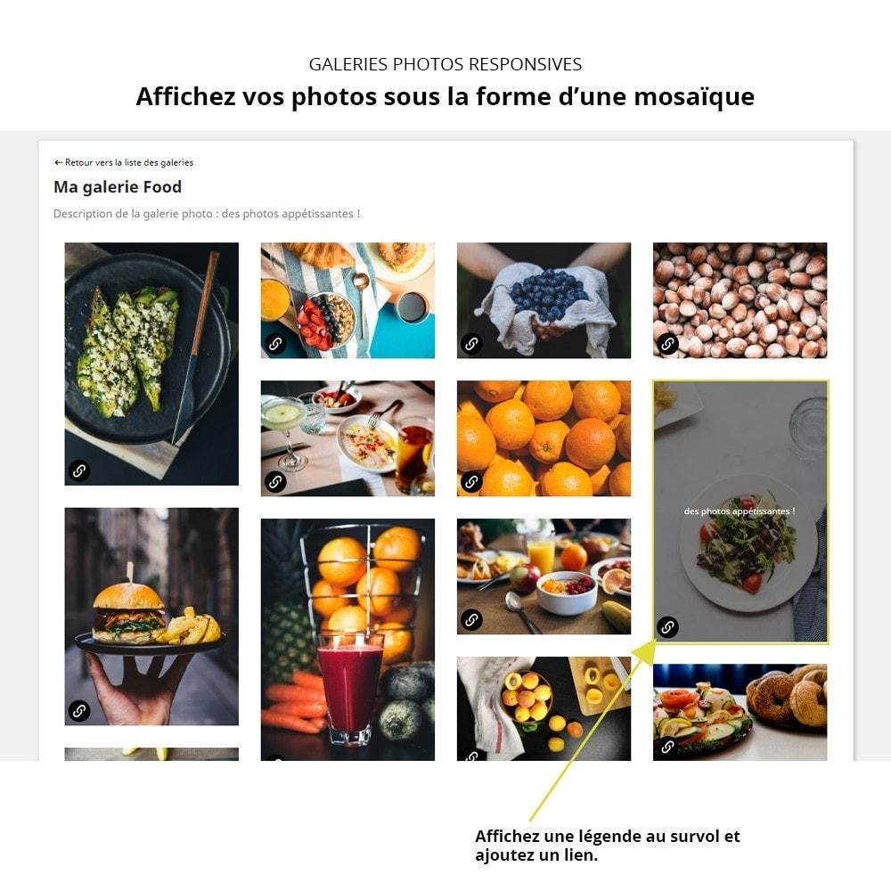 module - Sliders & Galeries - Galerie Photo Responsive - 2
