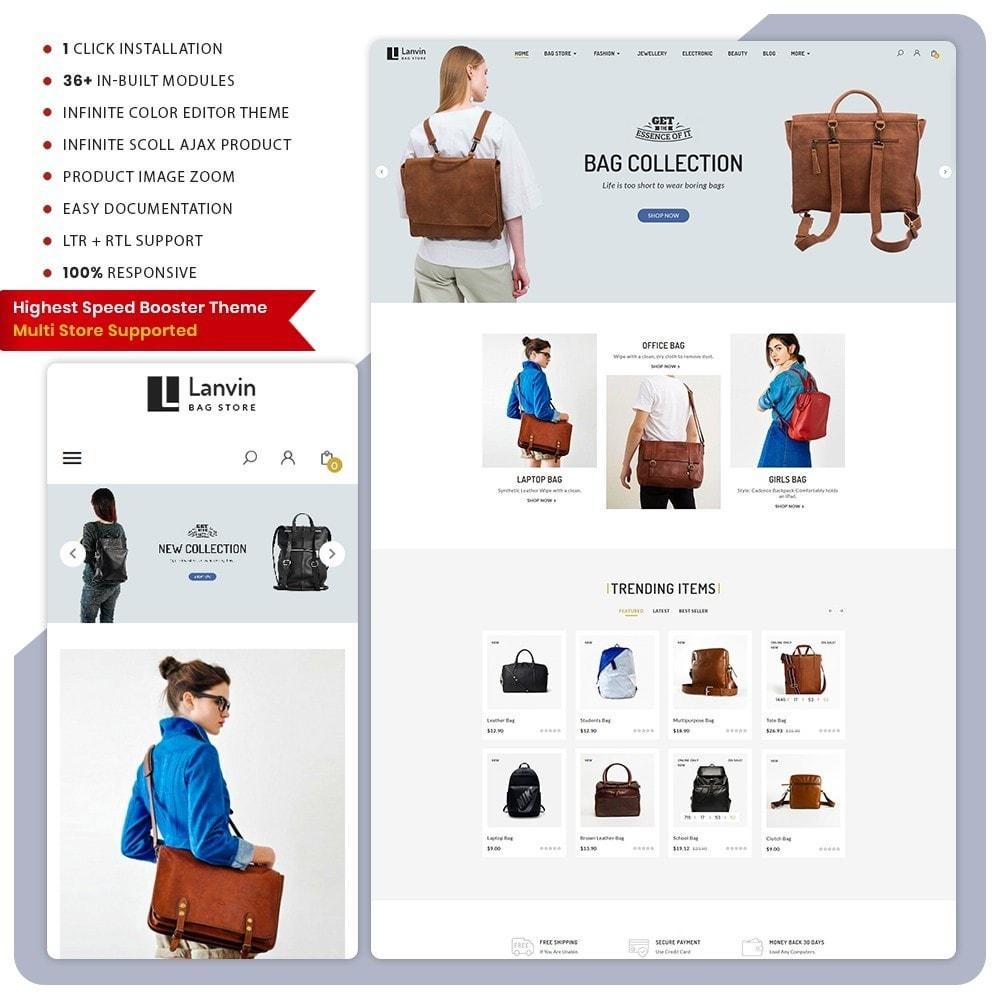 theme - Fashion & Shoes - Lanvin Bag Big Mall - 1