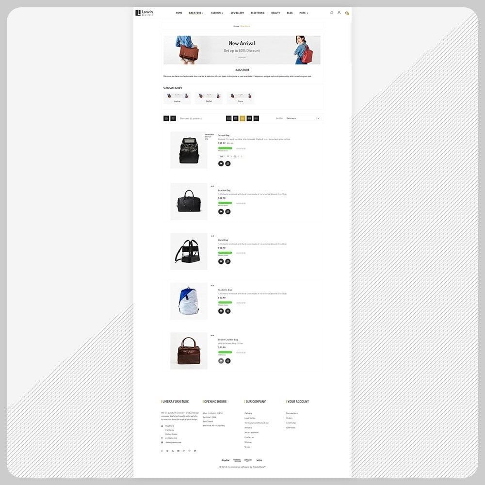 theme - Fashion & Shoes - Lanvin Bag Big Mall - 3