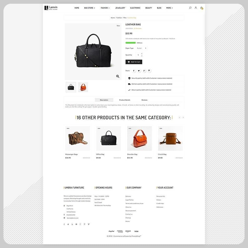 theme - Fashion & Shoes - Lanvin Bag Big Mall - 4