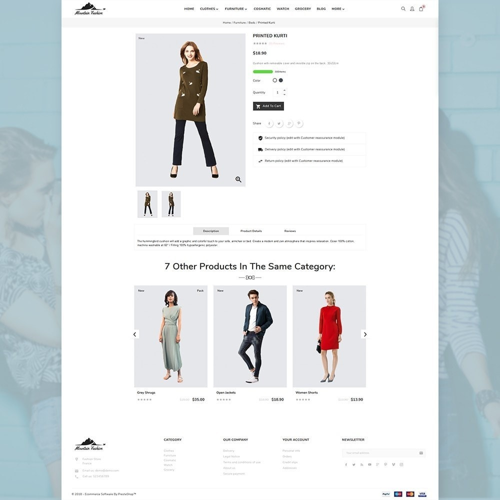 theme - Mode & Chaussures - Mountain Fashion Store - 4