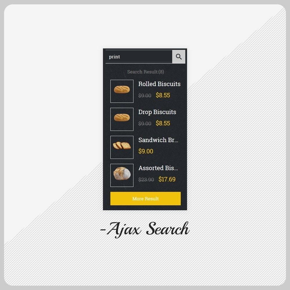 theme - Alimentos & Restaurantes - Giorgio Essen - Food Big Store - 8