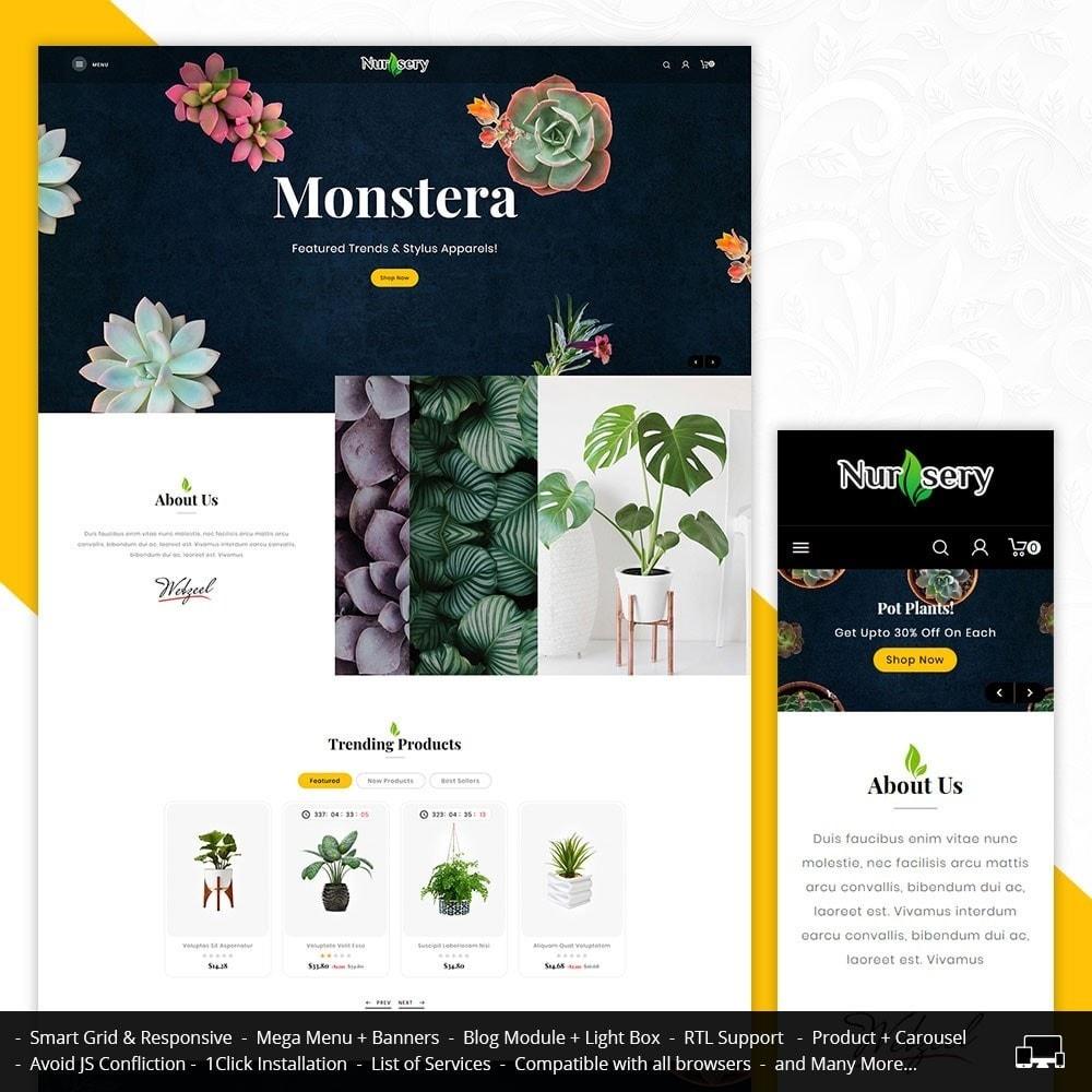 theme - Casa & Giardino - Nursery Plant & Interior - 1